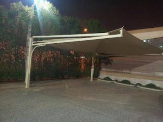 مظلات البيوت والحدائق ومواقف السيارات والمسابح في الرياض