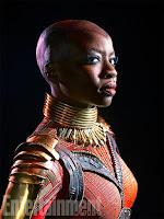 Black Panther: T'Challa, Nakia, Okoye, W'Kabi, Shuri, Zuri, Ramonda y Killmonger.