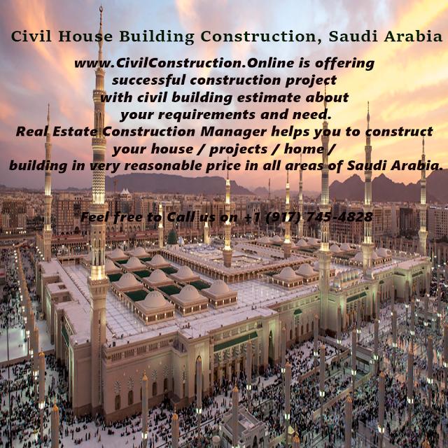 Civil House Building Construction, Al Namas, Saudi Arabia