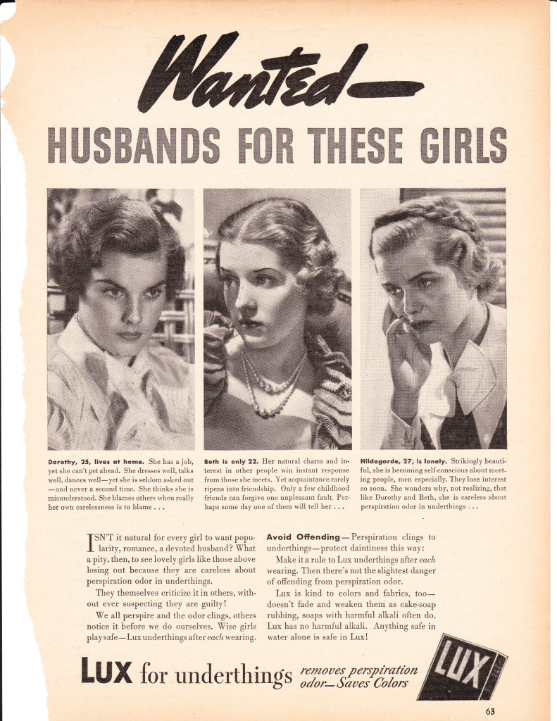 The history of the portrayal of women in advertising in the us