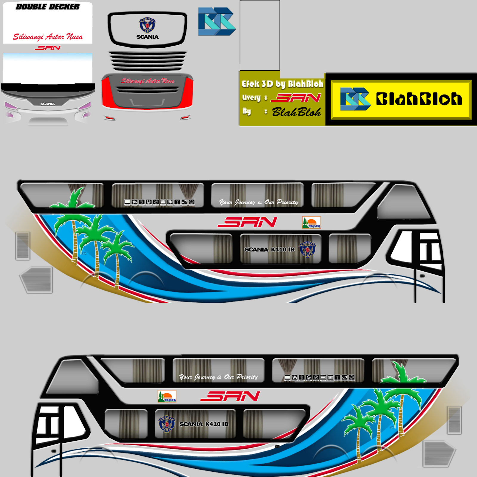 Download Livery Bussid Ban 1 Anti Feixista