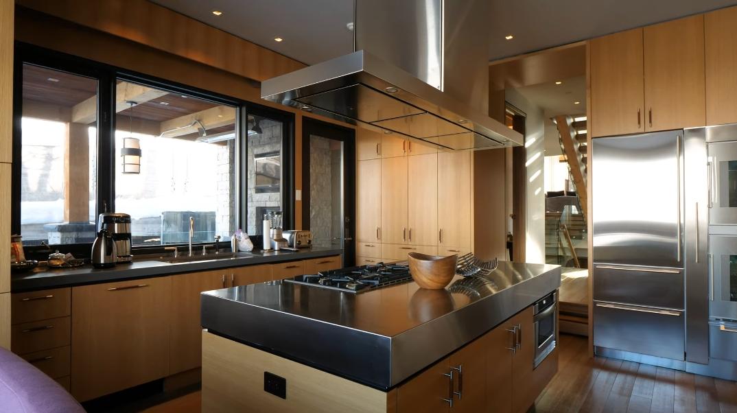 70 Interior Design Photos vs. 370 Exhibition Ln, Aspen, CO Ultra Luxury Modern Rustic Mansion Tour