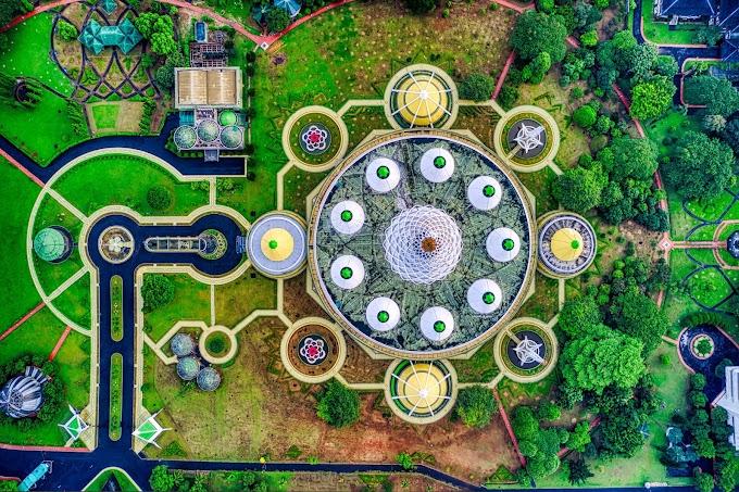 5 magnifiques photos de grands jardins vus du ciel