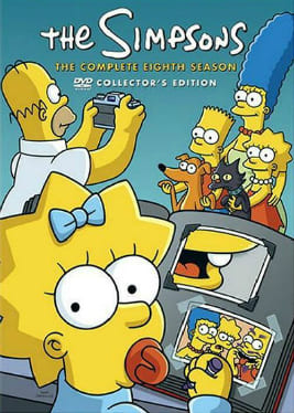 Os Simpsons - 8ª Temporada Desenhos Torrent Download capa