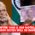 Twitter Reaction On Demonetization Of Rs.1000 & 500 Notes In India