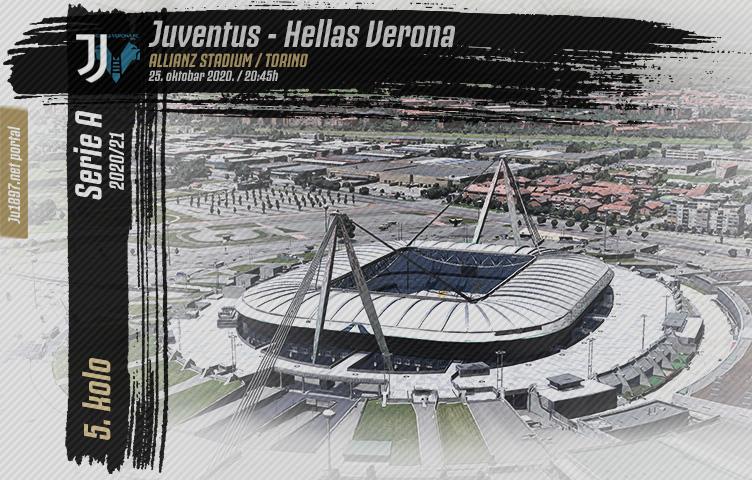 Serie A 2020/21 / 5. kolo / Juventus - Verona, nedelja, 20:45h
