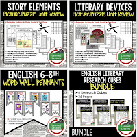 English MEGA BUNDLE, English I Cans, English Anchor Charts, Writing Anchor Charts, Narrative Writing, Persuasive Writing, Informative Writing, Literary Analysis, Story Elements, Literary Devices Game Cards, English Word Wall, Speech Analysis, Google