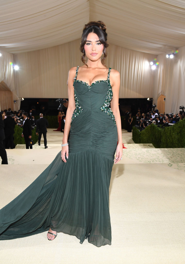 Madison Beer flaunts cleavage and curves at the 2021 Met Gala