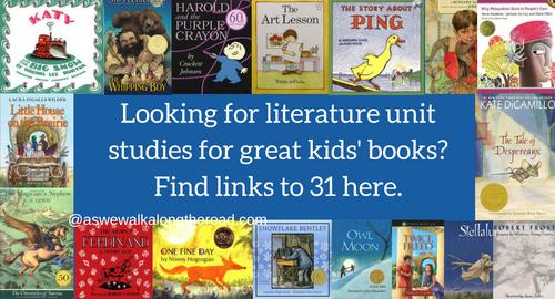 Literature unit studies for kids