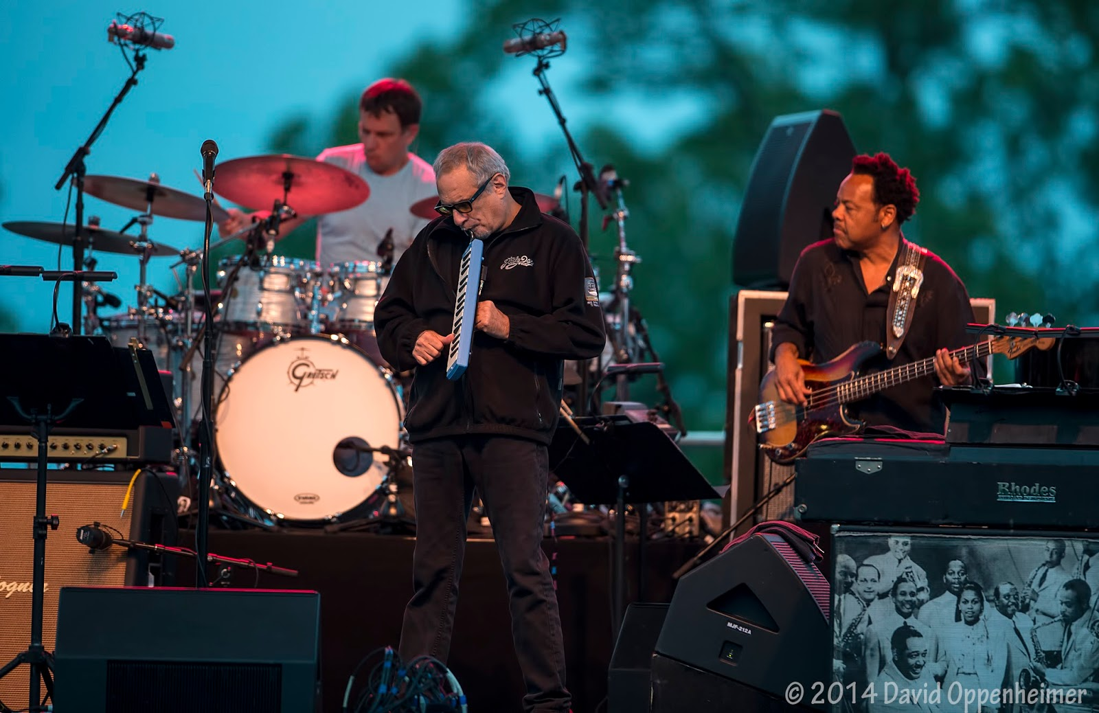 Donald Fagen with Steely Dan