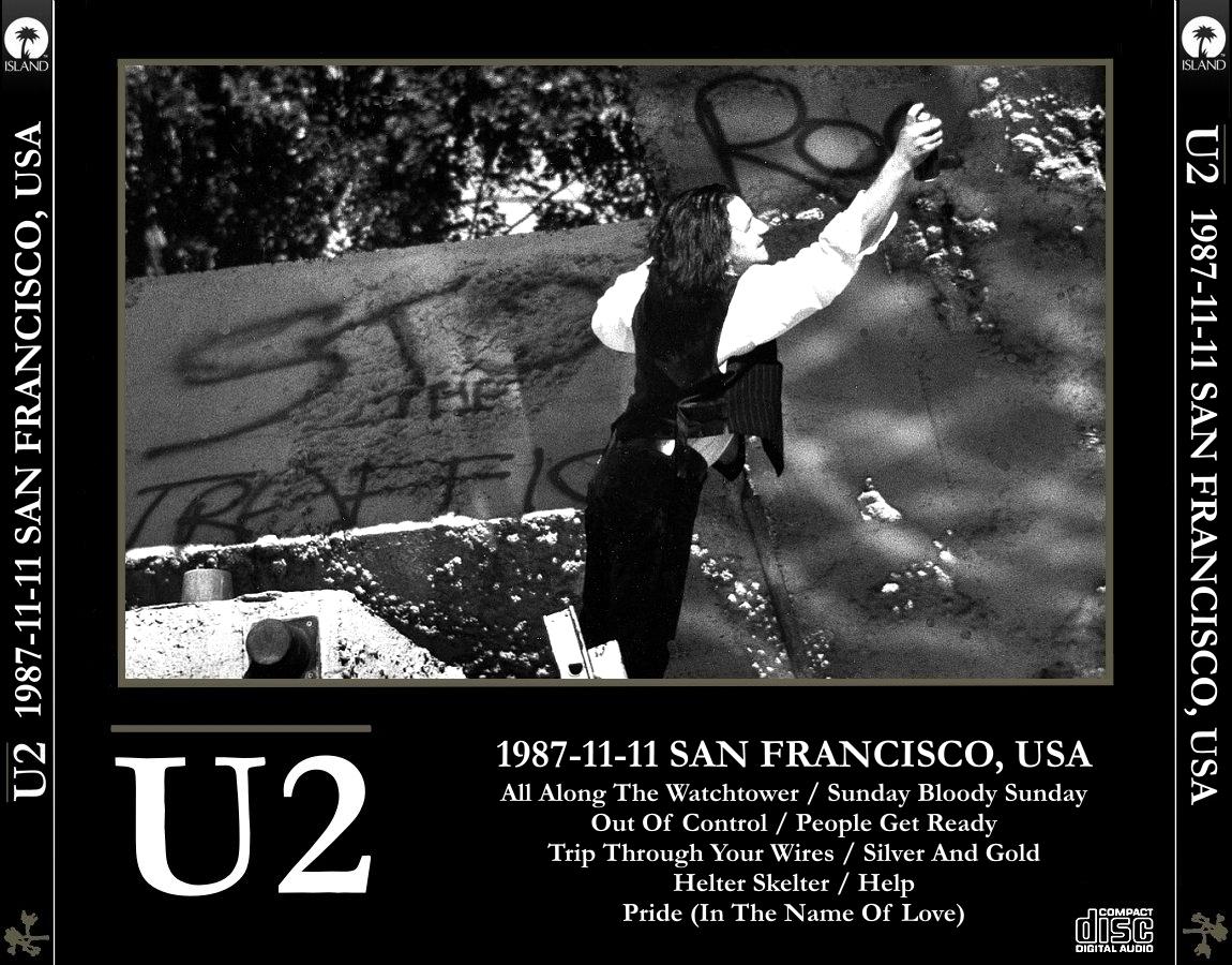 Reliquary: U2 [1987.11.11] San Francisco, California [EX-AUD]