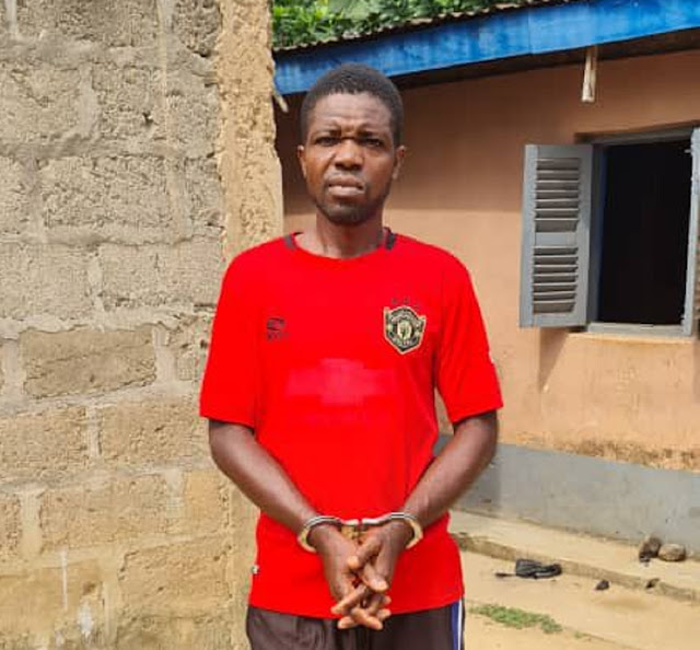 Check Out Photos Of Father Who Was Recently Imprisoned For Sleeping With 9 Years Old Daughter