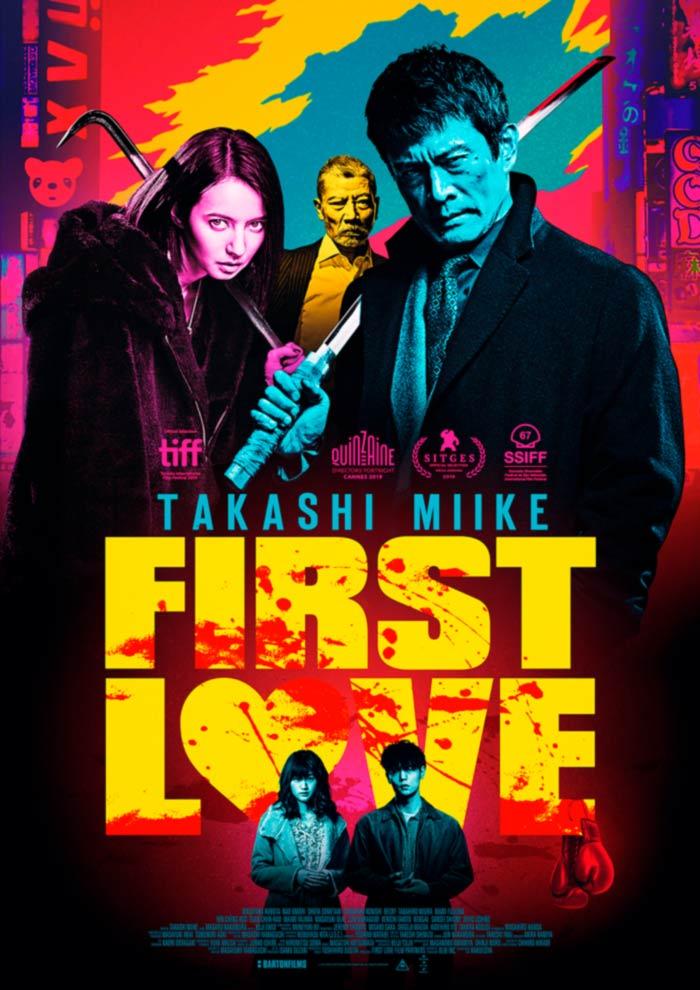 First Love (Hatsukoi) film - Takashi Miike - Barton Films - poster