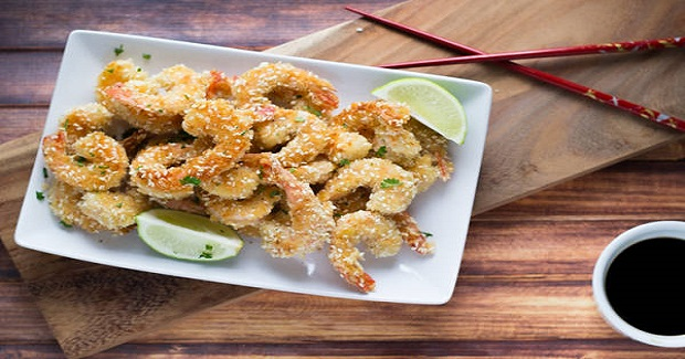 Crispy Sesame Shrimp Appetizer Recipe