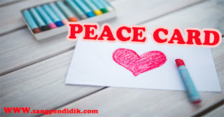Media peace card dapat digunakan dalam proses pembelajaran di Kelas 3
