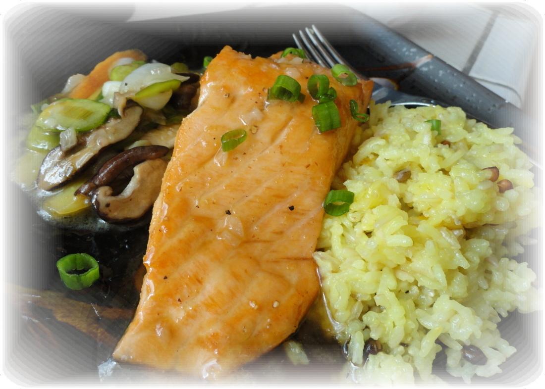 Haumea's Kanaka Kitchen Blog: Miso Glazed Salmon (Inspired by Cheesecake Factory)