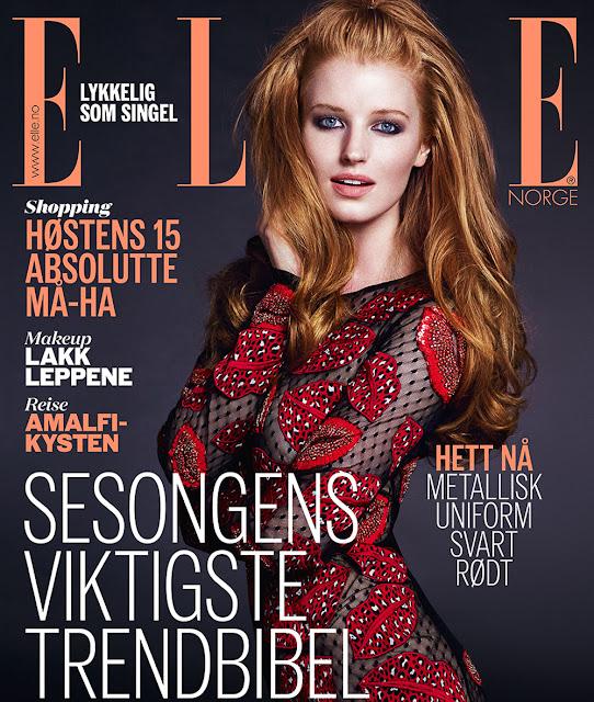Fashion Model, @ Helene Hammer by Baard Lunde for ELLE Norway September 2016