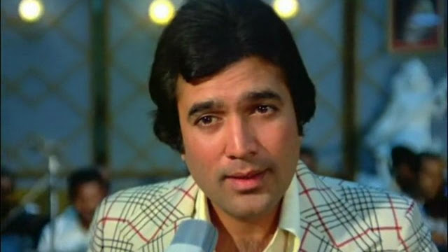 Rajesh Khanna in Anurodh, Singer