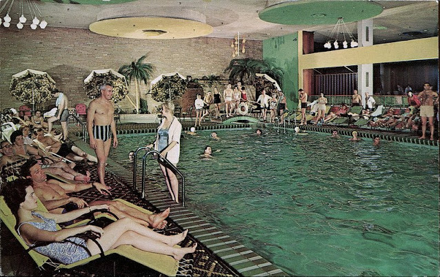 Nevele Grande - Pool Postcard