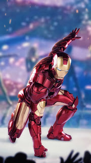 Iron Man Mobile HD Wallpaper