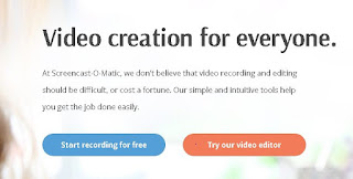 una buena opcion para grabar la pantalla de tu pc sin programas es screencast o matic