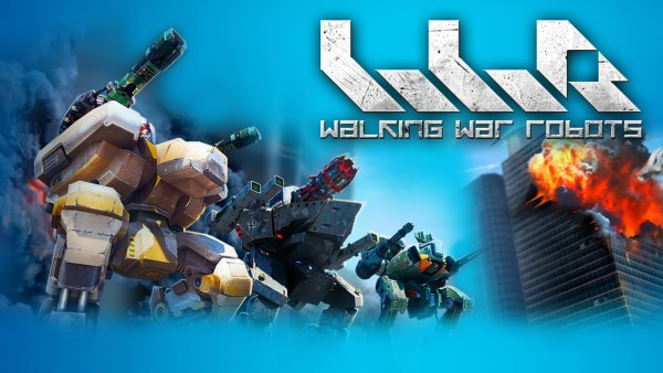 Walking War Robots Apk (Mod Money)