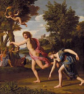 Hippomène et Atalante - Nicolas Colombel (1680)