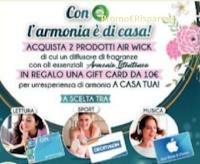 Con Air Wick l'armonia è di casa : premio certo Gift Card da 10 euro a scelta tra Decathlon, Mondadori e App Store&ITunes