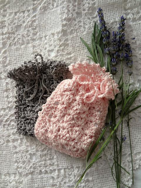 Crochet Lavender Sachets