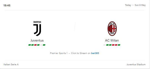 Juventus vs AC Milan Preview and Prediction 2021