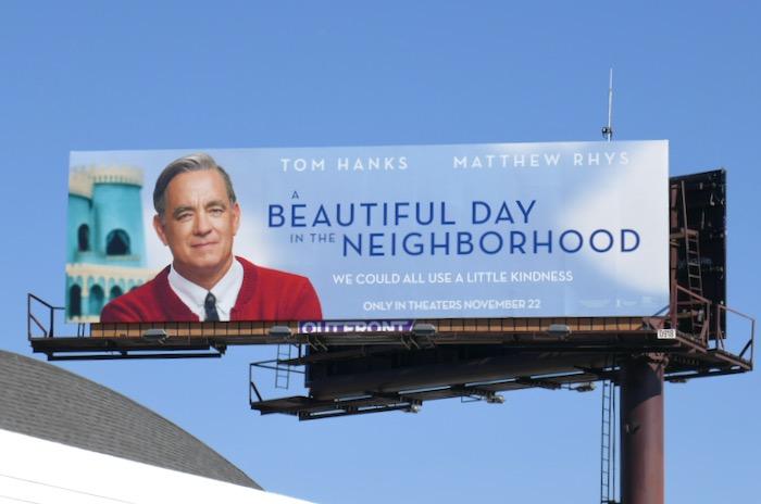 A Beautiful Day in the Neighborhood billboard