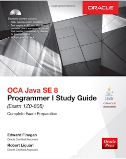 books to prepare OCA Java 8 Programmer 1 certification