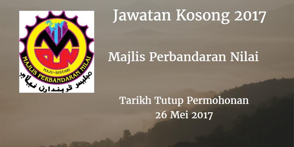 Jawatan Kosong MPN 26 Mei 2017