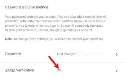 gmail 2 step verification kaise kare