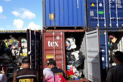 Impor Sampah Masuk Indonesia, Ternyata Dipicu Kebijakan China