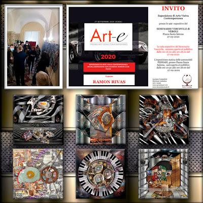 Ramón Rivas. Obras presentadas en el Premio Art-e 2020 de Veroli