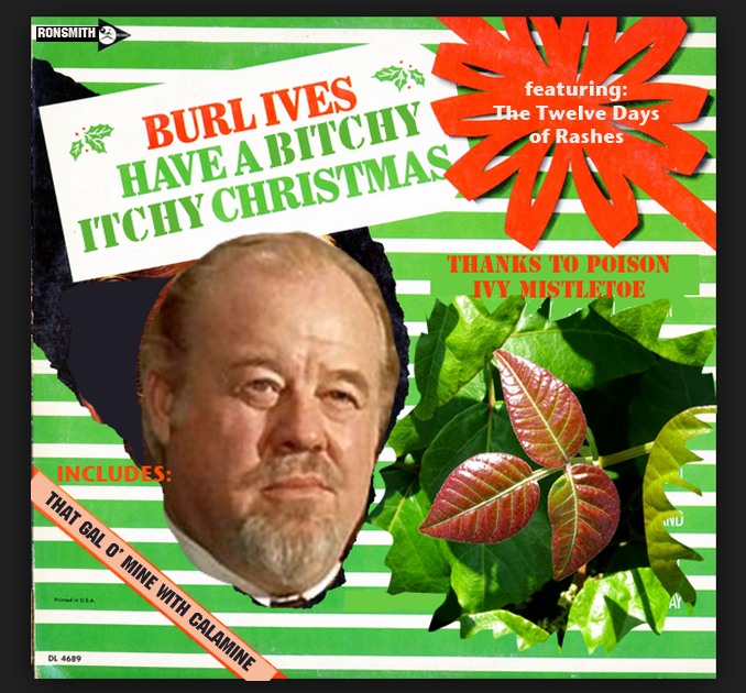 Burl Ives Christmas.Ronald L Smith The Burl Ives Christmas Record