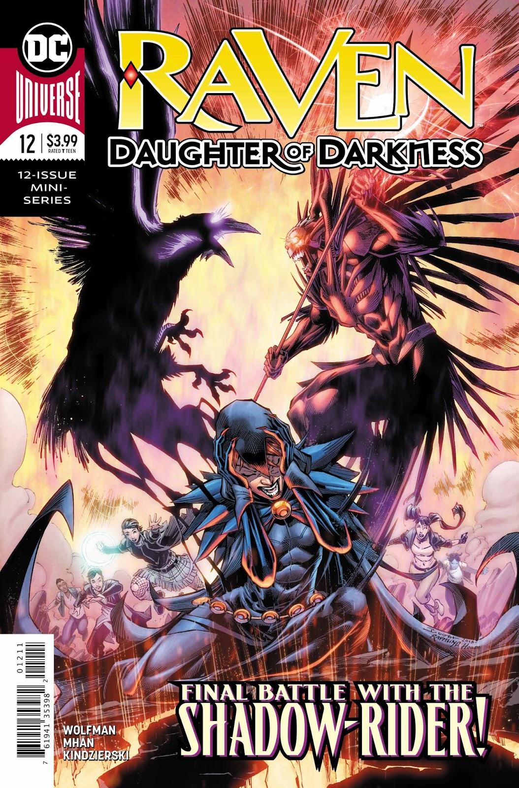 Weird Science DC Comics: Raven: Daughter of Darkness #12
