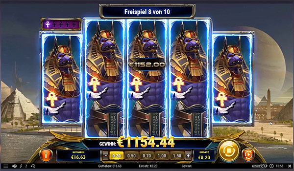Main Slot Indonesia - Ankh of Anubis (Play N Go)