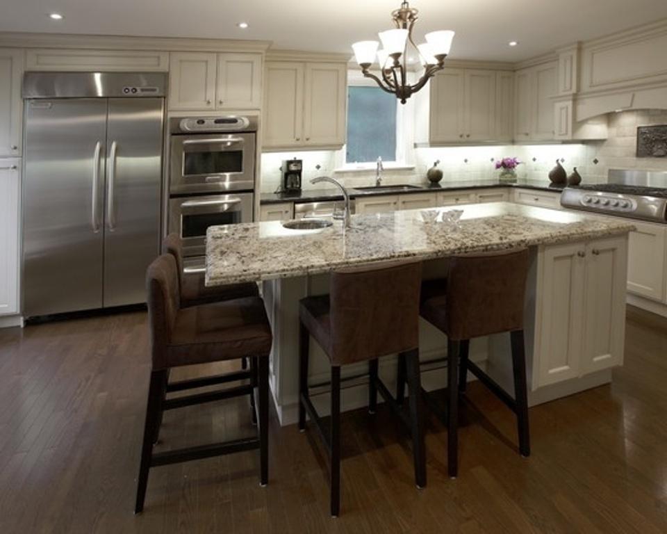 Using Kitchen Island Seats 4 Kitchen Remodel Cabinet Sink