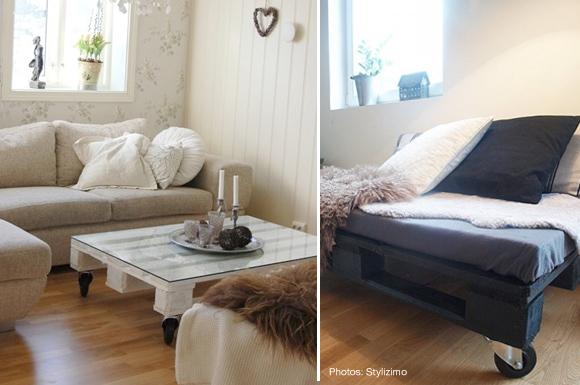 vintage finds new uses for old things wooden pallets. Black Bedroom Furniture Sets. Home Design Ideas