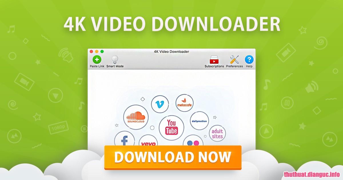 Download 4K Video Downloader 4.7.2.2732 Full Crack, phần mềm tải video mạnh mẽ, 4K Video Downloader, 4K Video Downloader free download, 4K Video Downloader full key