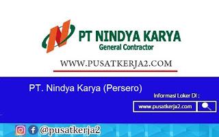 Lowongan Kerja PT Nindya Karya (Persero) Agustus 2020