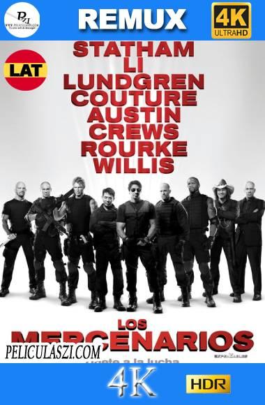 Los Indestructibles (2010) Ultra HD REMUX 4K HDR Dual-Latino VIP