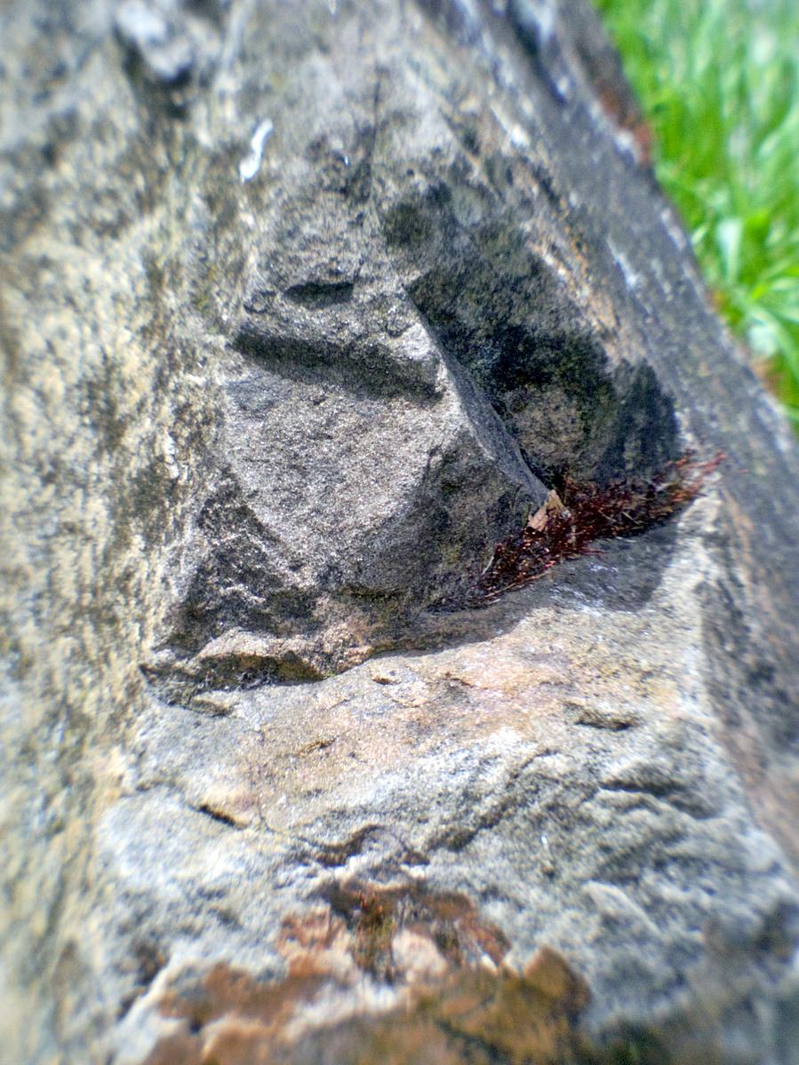 Beiger Sandstein ist typisch für das Neckartal