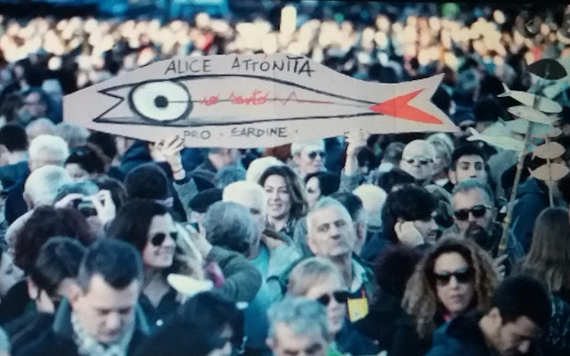 Movimiento antifascista las sardinas.