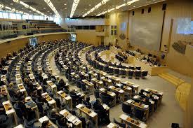 Riksdagshuset Moderaterna Liberalerna Centern KD Socialdemokraterna Vänsterpartiet Miljöpartiet Sverigedemokraterna