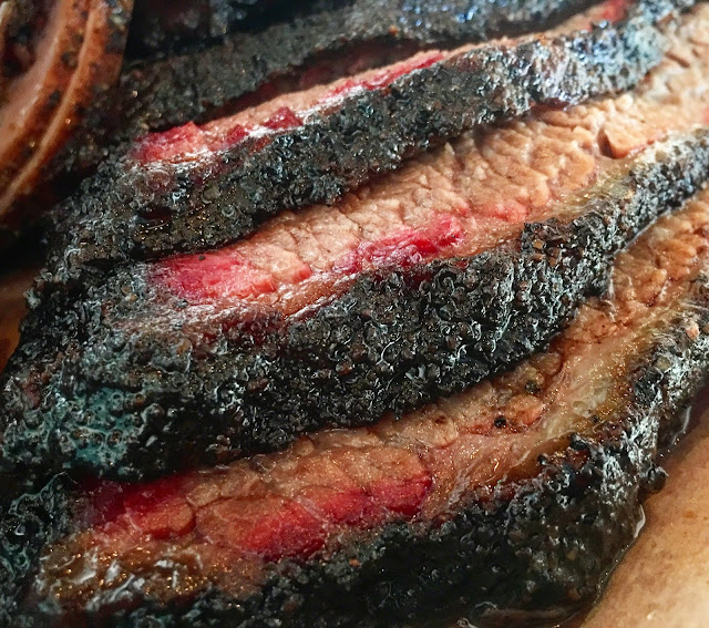 Brisket at Franklin Barbecue in Austin, TX