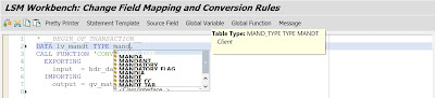 A second way to get the new ABAP editor in LSMW