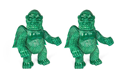 "Wing Kong Jade Statue ""Double Slush"" Edition Vinyl Figure by Super7"